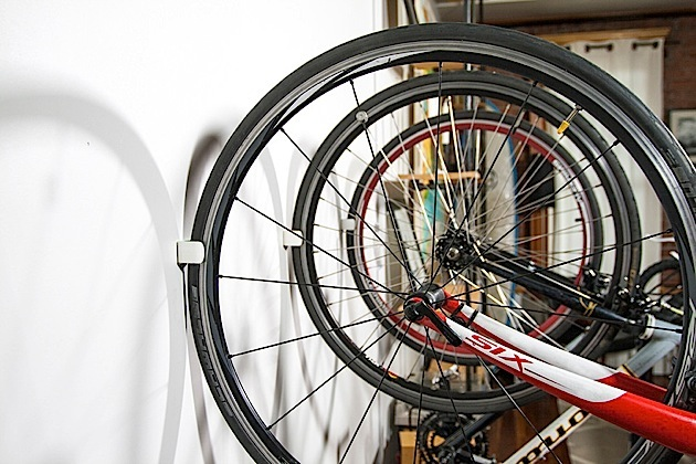...schicker kann man sein Bike nicht parken!
